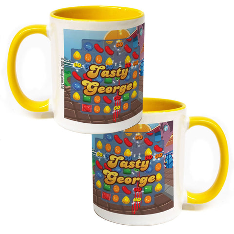 Tasty Gameboard Coloured Insert Mug