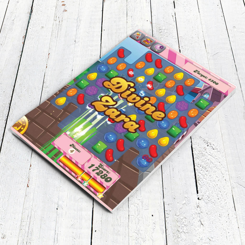 Divine Gameboard Notepad (Lifestyle)