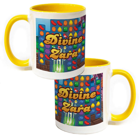 Divine Gameboard Coloured Insert Mug