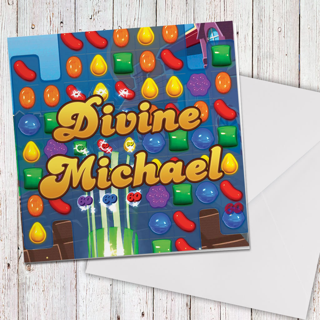 Divine Gameboard Greeting Card (Lifestyle)
