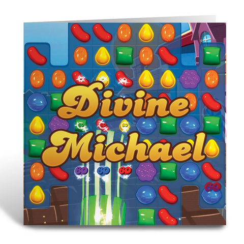 Divine Gameboard Greeting Card