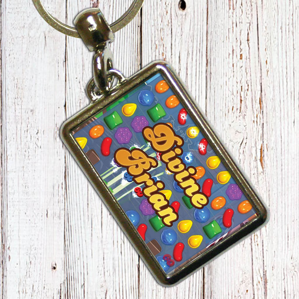 Divine Gameboard Metal Keyring (Lifestyle)