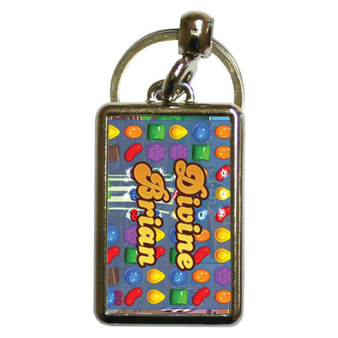 Divine Gameboard Metal Keyring