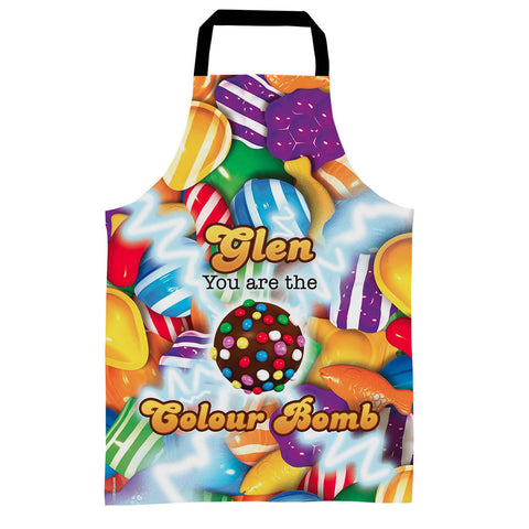 You Are The Colour Bomb Gameboard Apron