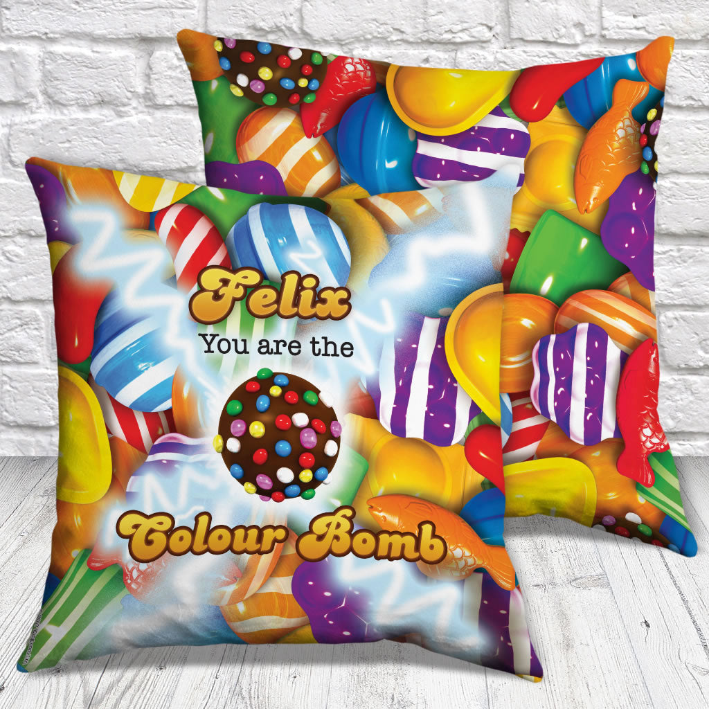 You Are The Colour Bomb Gameboard Cushion (Lifestyle)