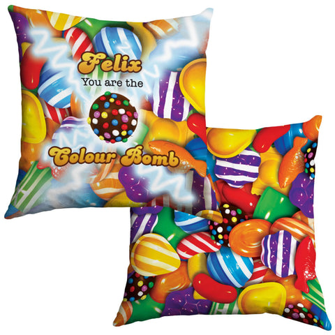 You Are The Colour Bomb Gameboard Cushion