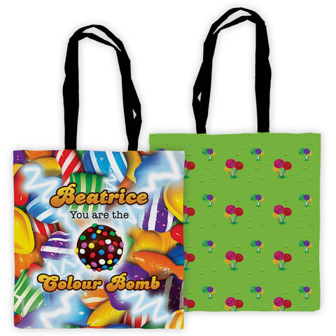 You Are The Colour Bomb Gameboard Premium Tote