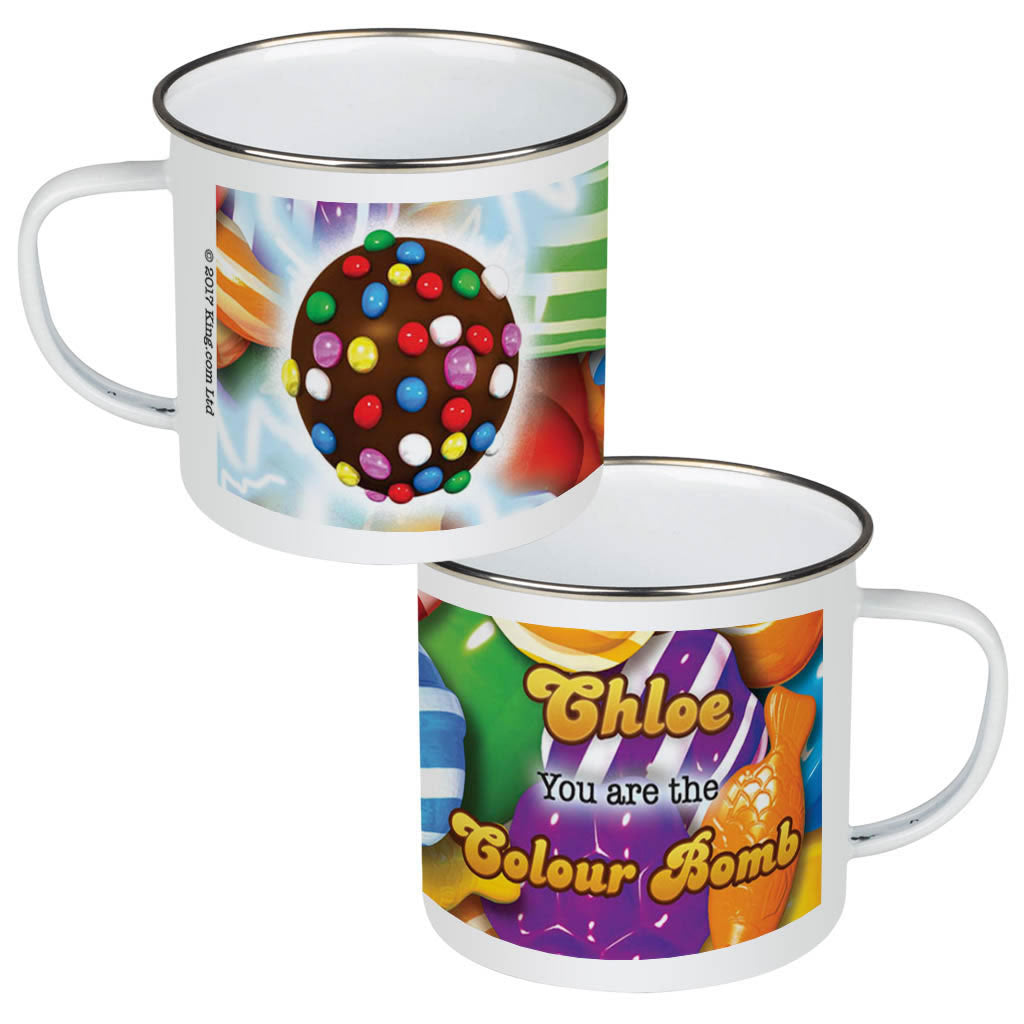 You Are The Colour Bomb Gameboard Enamel Mug