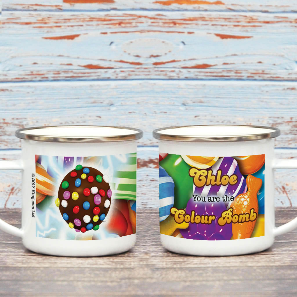 You Are The Colour Bomb Gameboard Enamel Mug (Lifestyle)