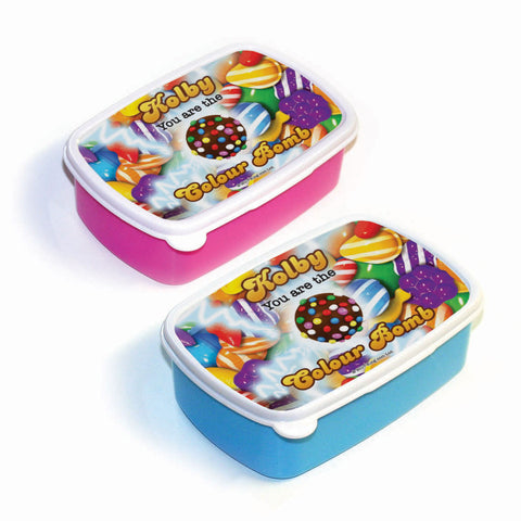 You Are The Colour Bomb Gameboard Lunch Box