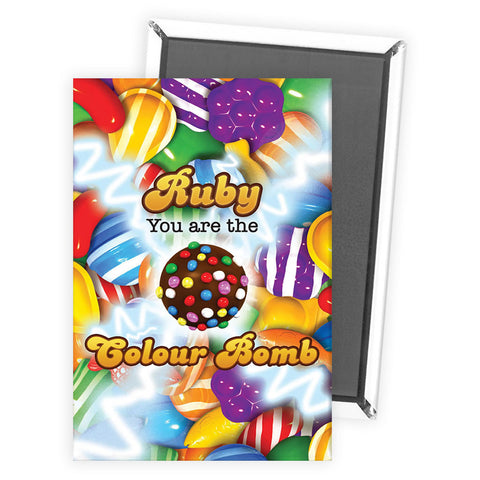 You Are The Colour Bomb Gameboard Magnet