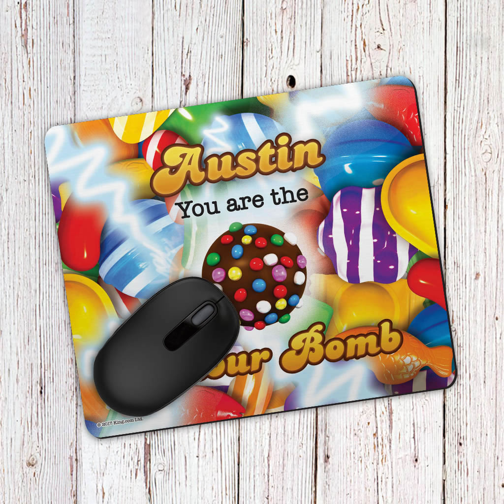 You Are The Colour Bomb Gameboard Mouse Mat (Lifestyle)