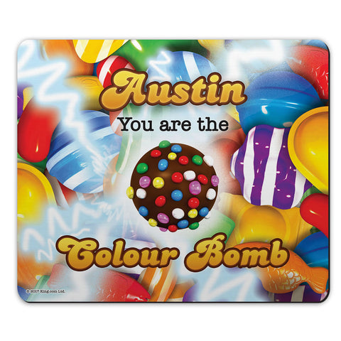 You Are The Colour Bomb Gameboard Mouse Mat