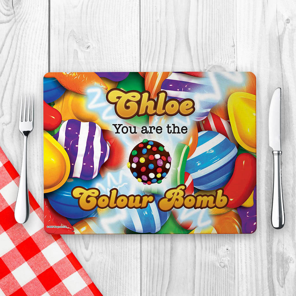 You Are The Colour Bomb Gameboard Placemat (Lifestyle)
