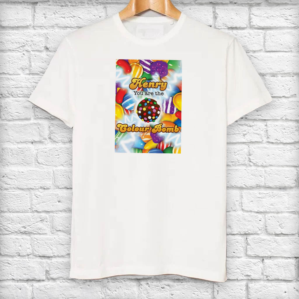 You Are The Colour Bomb Gameboard T-Shirt (Lifestyle)