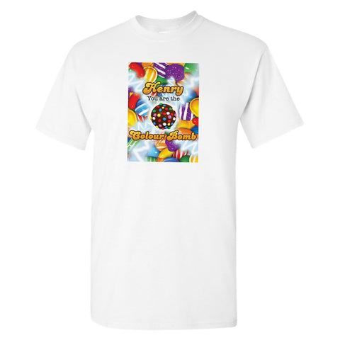 You Are The Colour Bomb Gameboard T-Shirt