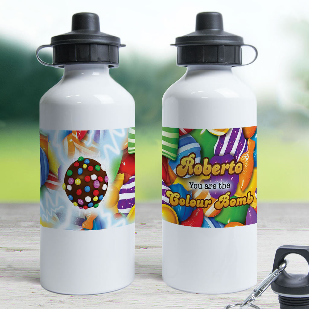 You Are The Colour Bomb Gameboard Water Bottle (Lifestyle)