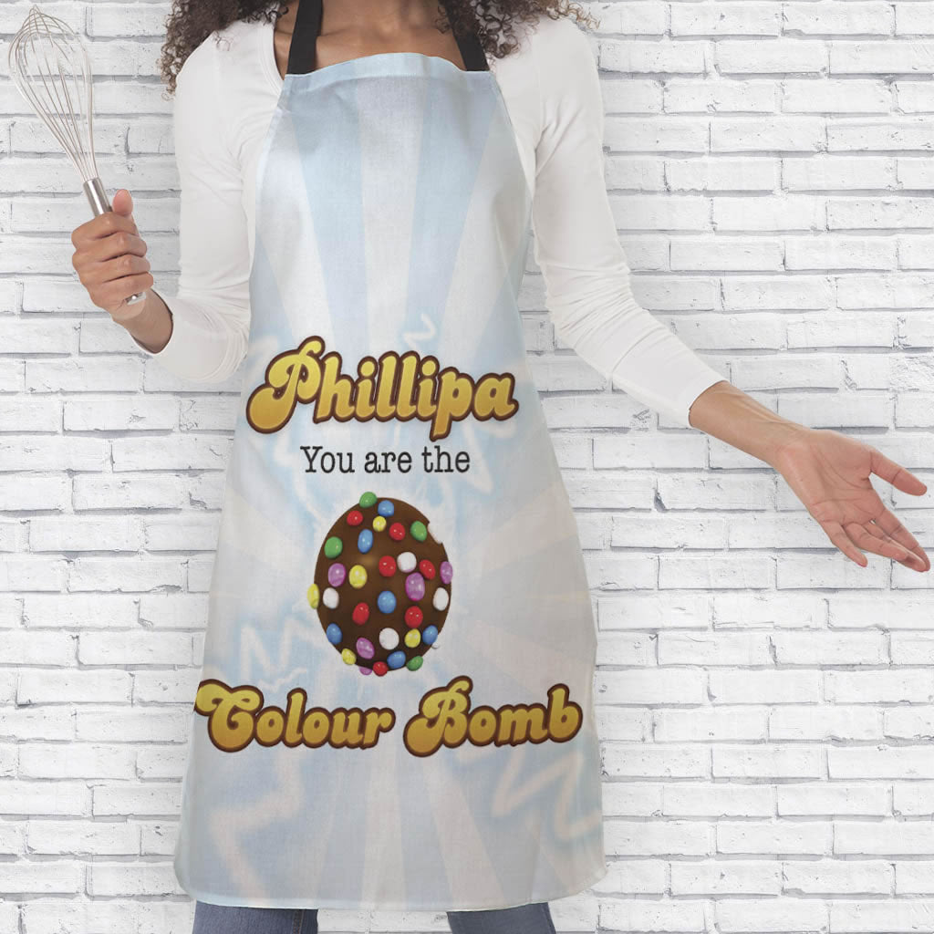 You Are The Colour Bomb Flash Apron (Lifestyle)