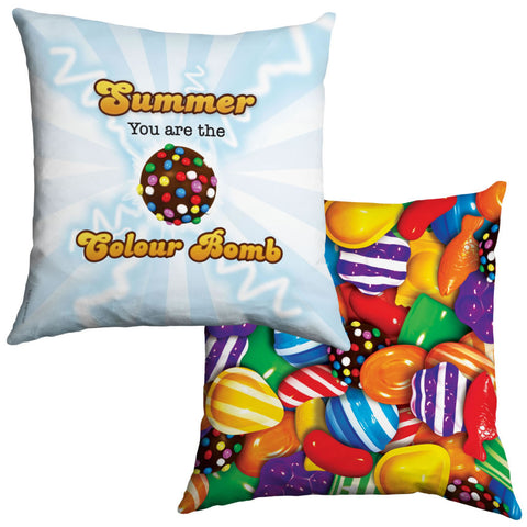 You Are The Colour Bomb Flash Cushion