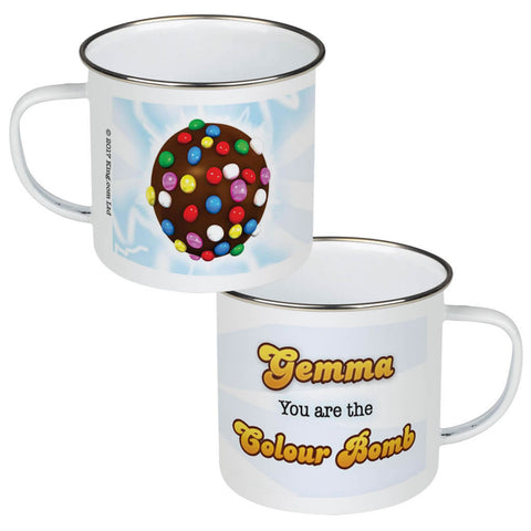 You Are The Colour Bomb Flash Enamel Mug