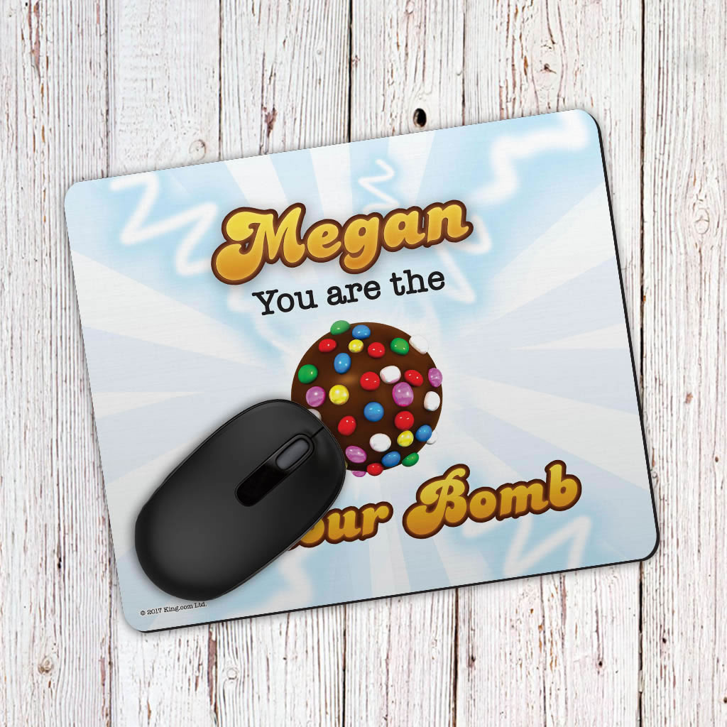 You Are The Colour Bomb Flash Mouse Mat (Lifestyle)