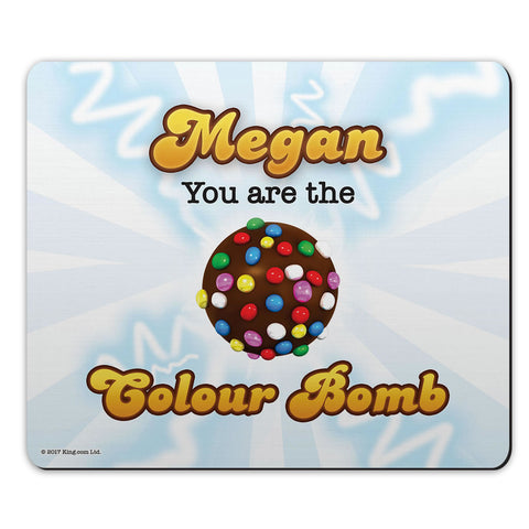 You Are The Colour Bomb Flash Mouse Mat