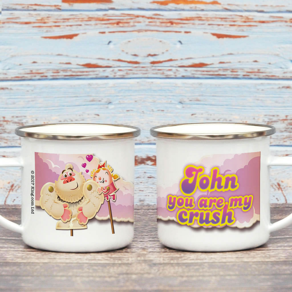 You are my crush Enamel Mug (Lifestyle)
