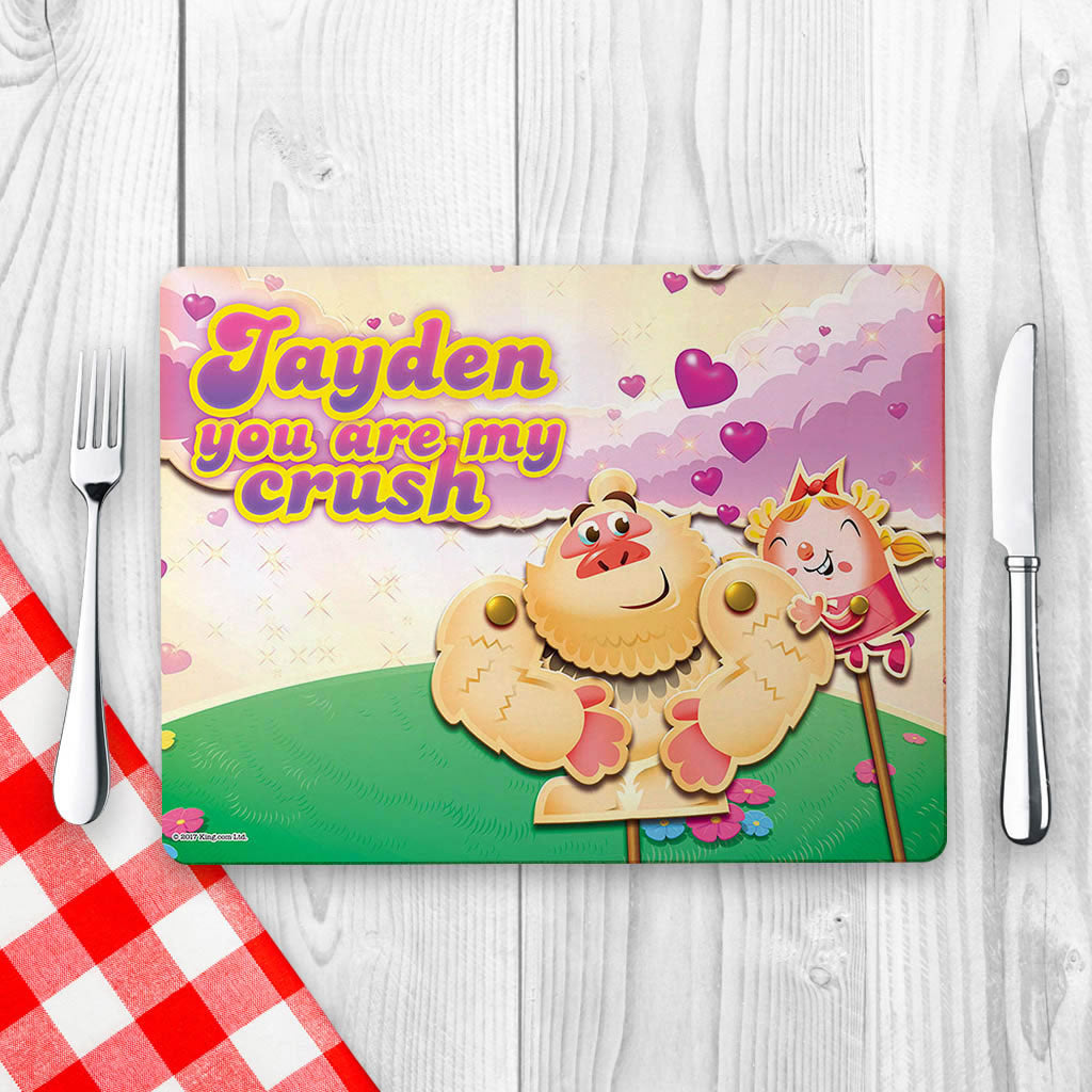 You are my crush Placemat (Lifestyle)