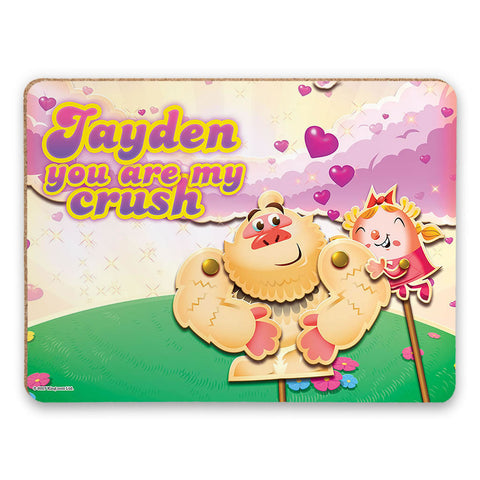 You are my crush Placemat