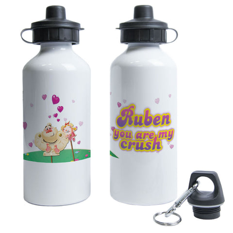 You are my crush Water Bottle