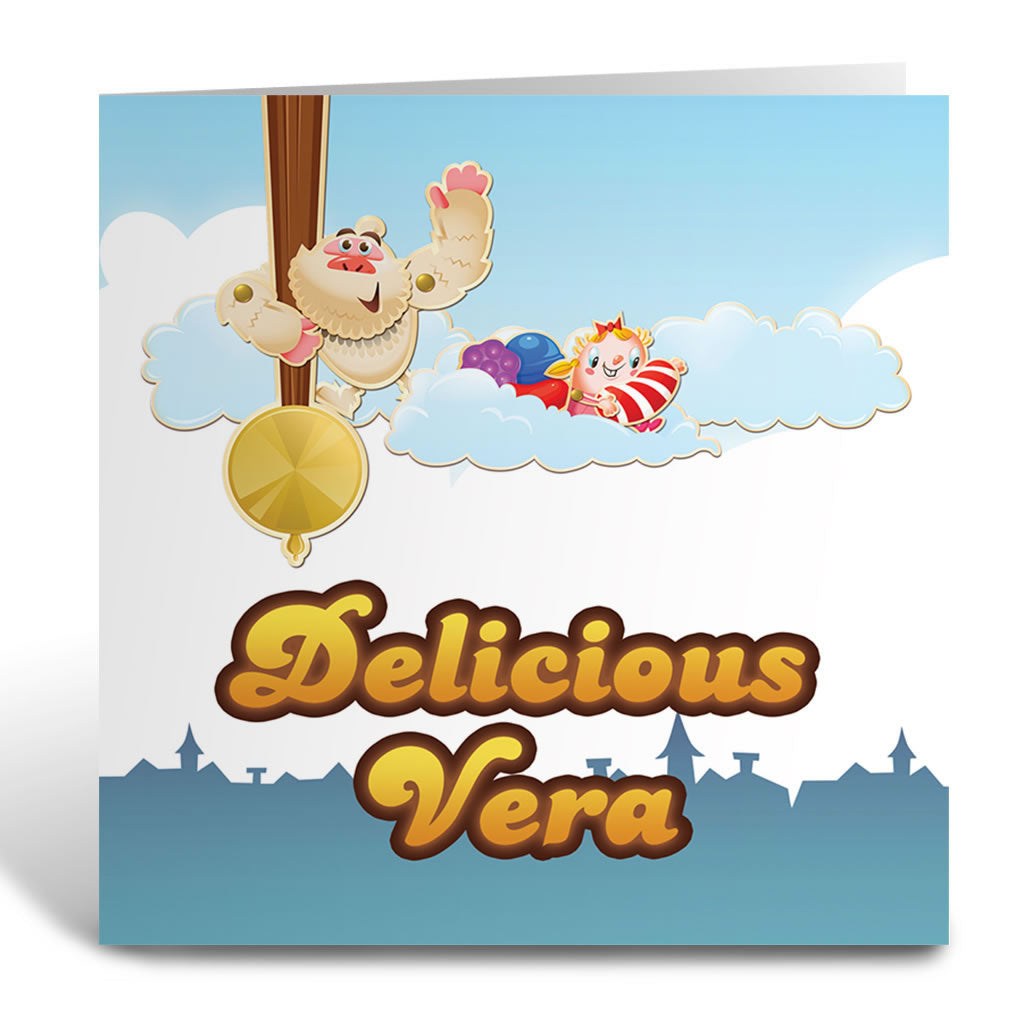 Mr Yetti Swing Greeting Card