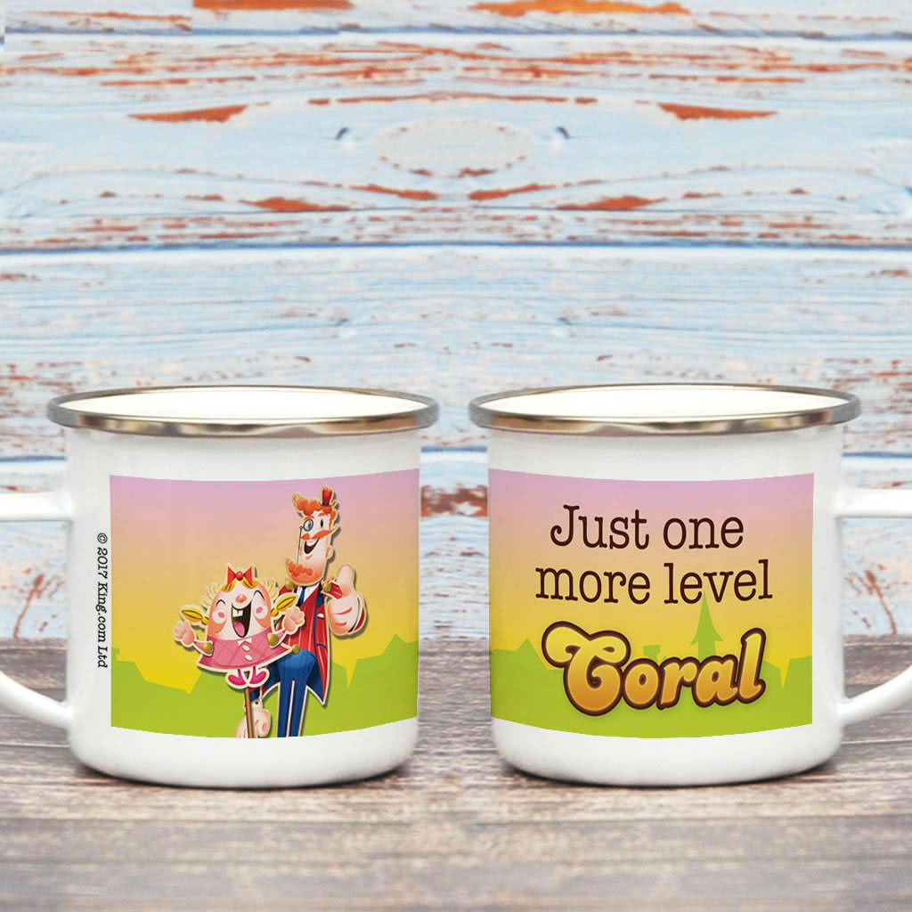 Just one more level Enamel Mug (Lifestyle)