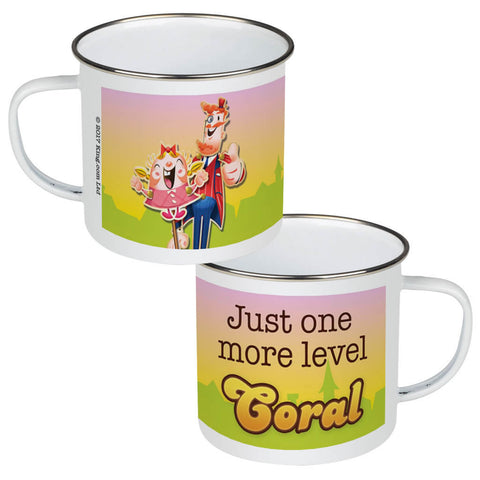 Just one more level Enamel Mug