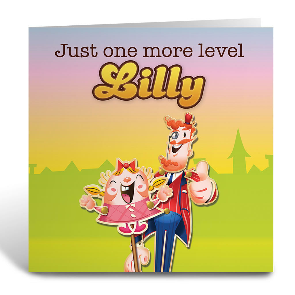 Just one more level Greeting Card