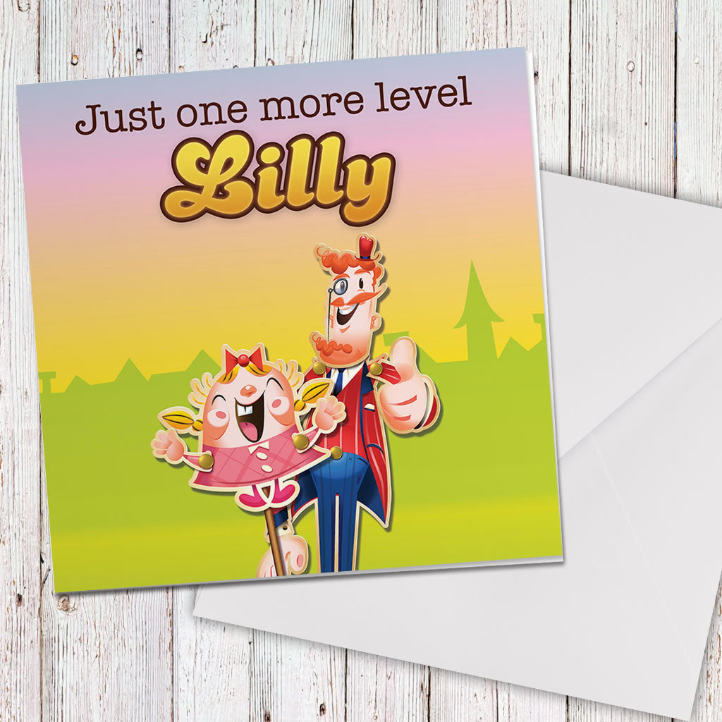 Just one more level Greeting Card (Lifestyle)