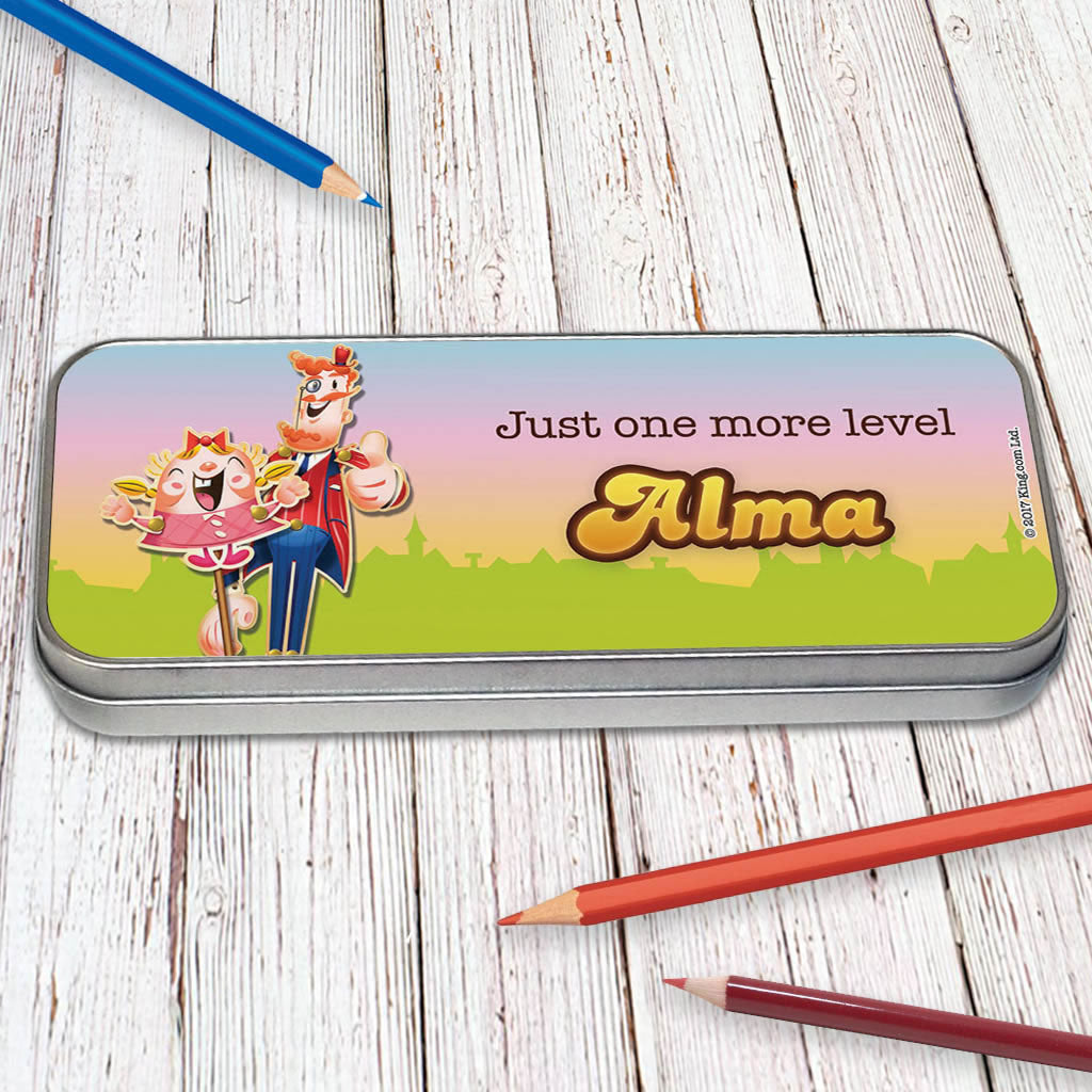 Just one more level Pencil Tin (Lifestyle)