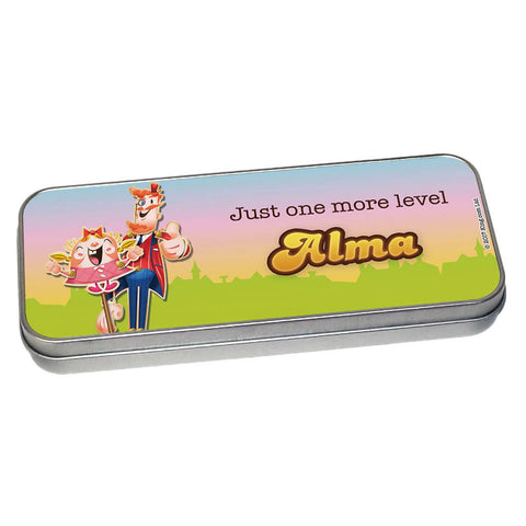 Just one more level Pencil Tin
