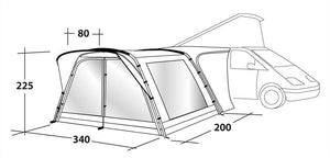 Outwell Scenic 200 Drive Away Awning (2019)
