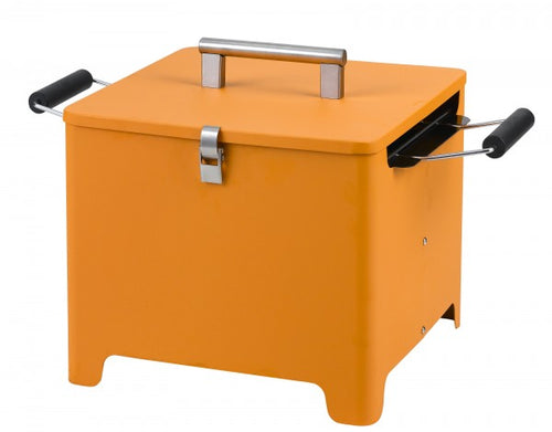 Tepro Chill and Grill Charcoal Grill Cube orange