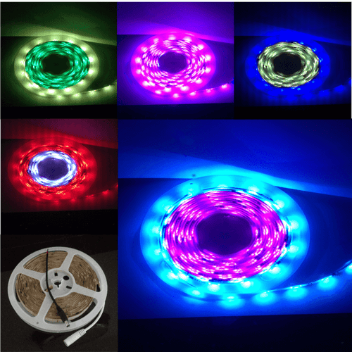 5M Flag Pole Pre-Set Digital Led Dream Lights Strip