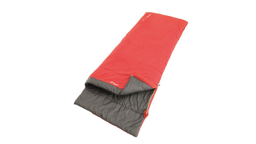 Outwell Celebration Lux Sleeping Bag Single - Red