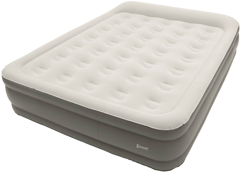 Outwell Flock Superior Double Airbed with Built In Pump