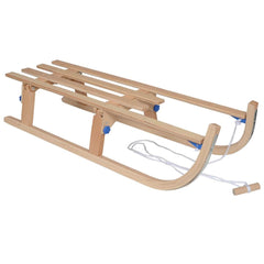 White Out Wooden Toboggan Large 110cm