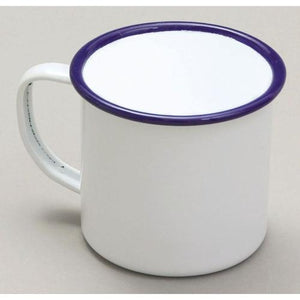 Retro Coloured Enamel Mugs
