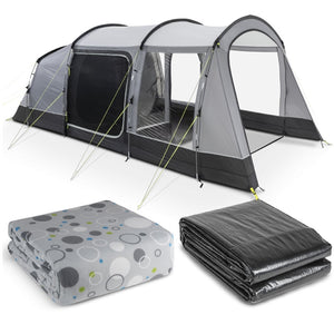 Kampa Hayling 4 Poled Tent Package