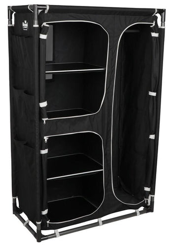 New Royal Medium Black Wardrobe