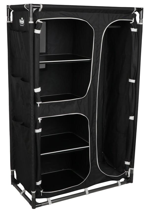 Royal Medium Black Wardrobe