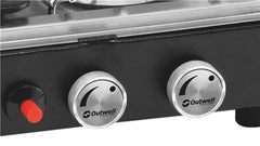 Outwell Gourmet Cooker 3 Burner Stove w/Grill