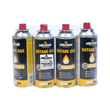 Milestone - 4 Pack CRV Gas Canisters - 220g