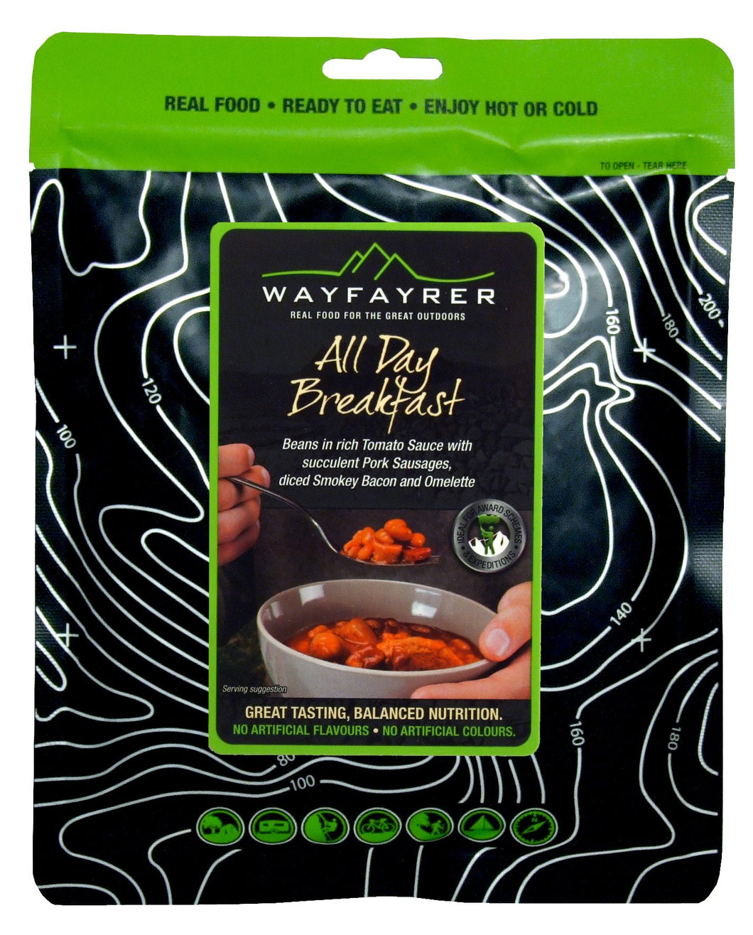 Wayfayrer  Ready-to-Eat Camping Food